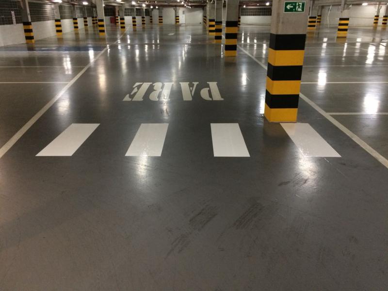Execução de pisos industriais