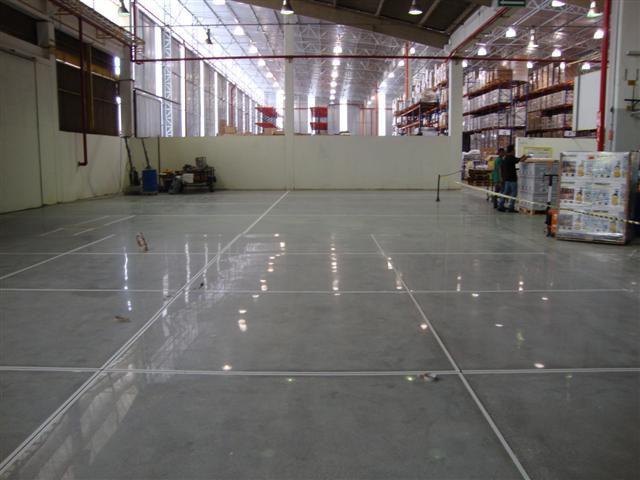 Polimento de concreto em sp