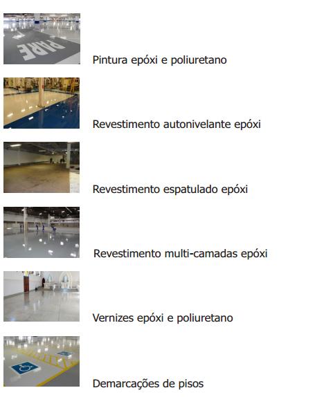 Serviços prestados pela RPS Revestimentos