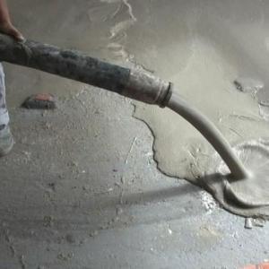 Argamassa cimentícia autonivelante